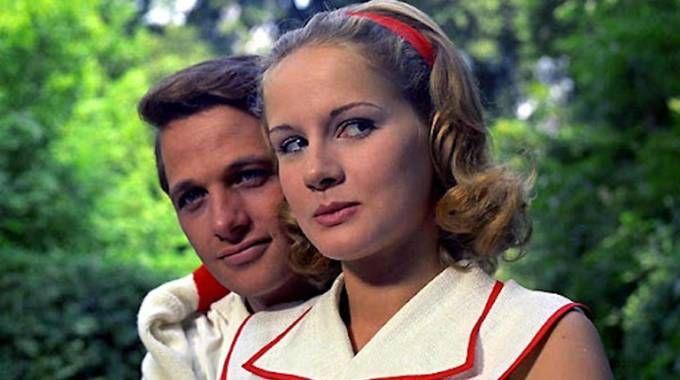 Una foto di scena del film ''Il giardino dei Finzi Contini '' di De Sica, 1970 (Ansa)