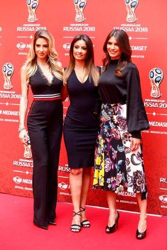 Con Monica Bertini ed Elena (LaPresse)