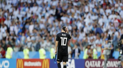 Lionel Messi, attaccante argentino (Ansa)
