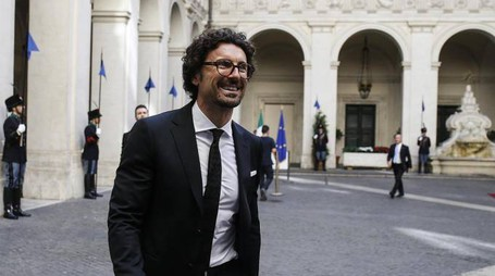 Danilo Toninelli (foto Ansa)
