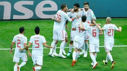 Spagna batte Iran 1-0 (LaPresse)
