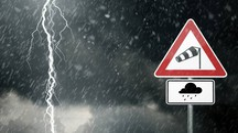 Previsioni meteo, una perturbazione rapida ma intensa alle porte dell'Italia (foto iStock)