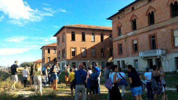L'esterno della Bolognese durante una visita