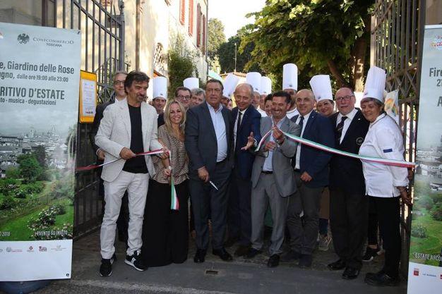 Arcobaleno d'Estate, il primo evento al Giardino delle Rose (New Pressphoto)