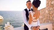Skorupski guarda innamorato la donna che ha appena sposato (foto da Instagram)