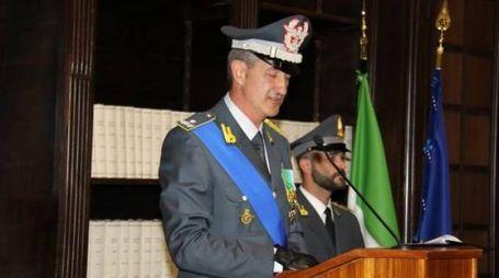 AL VERTICE Il generale di brigata Gianfranco  Carozza