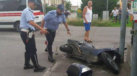 I rilievi della polizia