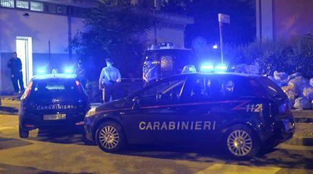 I carabinieri sul luogo del delitto