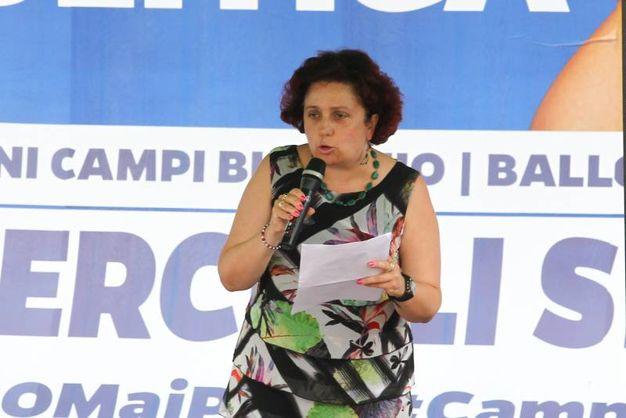 Matteo Salvini a Campi Bisenzio per sostenereMaria Serena Quercioli (Fotocronache Germogli)