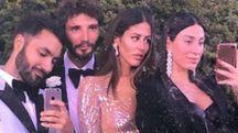 Stefano De Martino a Como con Gilda Ambrosio, Giorgia Gabriele e Yigit Turhan (Instagram)
