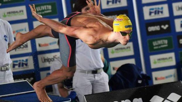 Fabio Lombini ai blocchi di partenza