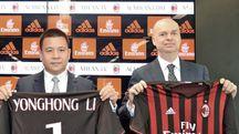 Yonghong Li e Marco Fassone  (Newpress)