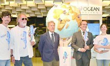 One Ocean Foundation ieri a Pitti Bimbo (da qn)