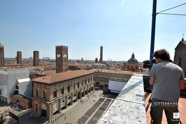 La Rai di Superquark ha percorso Bologna in lungo e in largo per due giorni