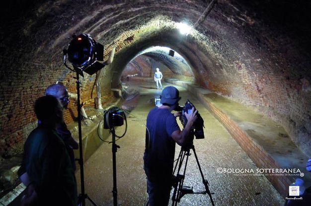 Immancabile, un tour sotterraneo lungo l'Aposa, quindi dritti verso la Conserva di Valverde, nota anche come i Bagni di Mario