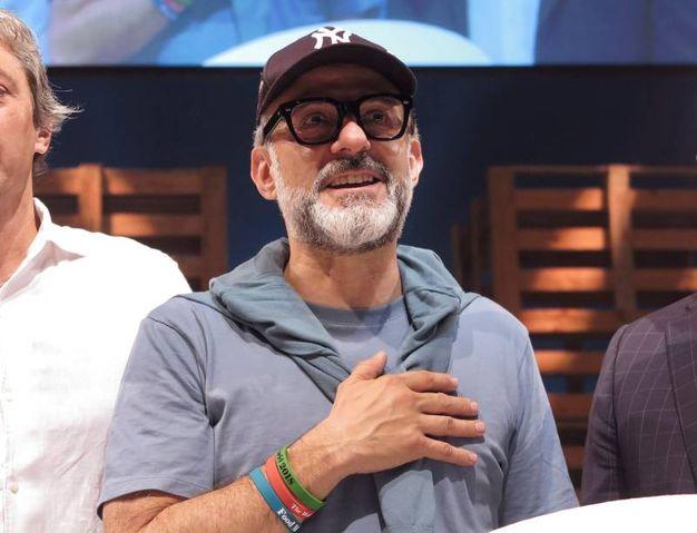 Bottura ha annunciato che Al Mèni volerà a New York (foto Petrangeli)