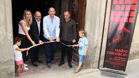 Inaugurazione Carbonaia Open Art