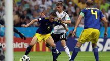 Mondiali 2018, Germania-Svezia (Ansa)