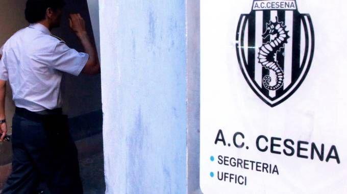 La sede del Cesena calcio in corso Sozzi