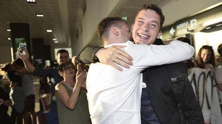 Filippo Tortu rientra in Italia dopo il record (Ansa)