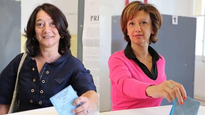 Ballottaggio a Imola, Cappello e Sangiorgi al voto (Isoalpress)