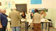I cittadini di Ancona ai seggi per il ballottaggio (foto Emma)