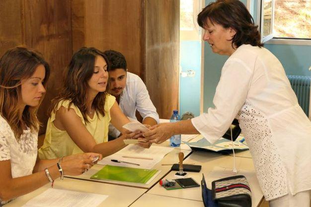 Il ballottaggio delle elezioni amministrative ad Ancona (foto Emma)