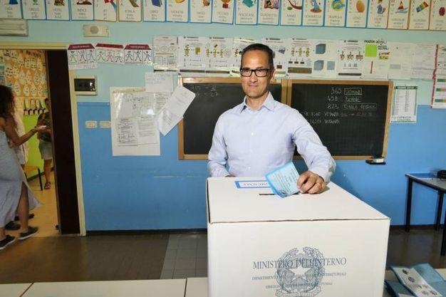 Stefano Tombolini, rappresentante di una lista civica è sostenuto dal centrodestra (foto Emma)