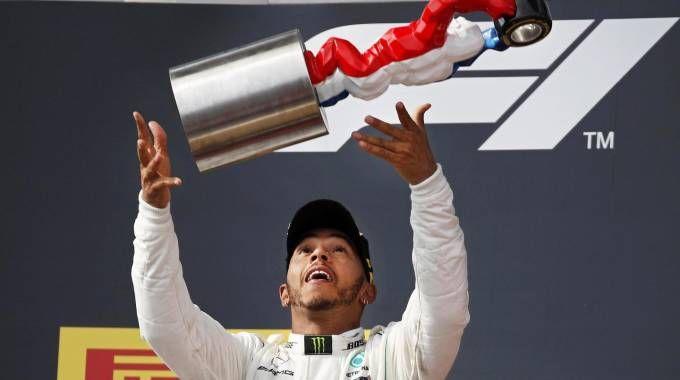 Hamilton vince il Gp di francia 2018 (Ansa)