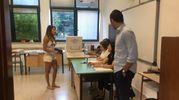 La sfida è tra il  sindaco uscente Nazareno Franchellucci, sostenuto dal centrosinistra e Giorgio Marcotulli, in rappresentanza del centrodestra (foto Colibazzi)