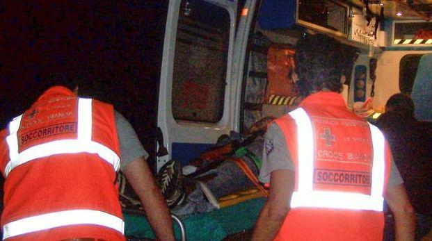 Sono stati sei i giovani ricoverati dopo lo scontro
