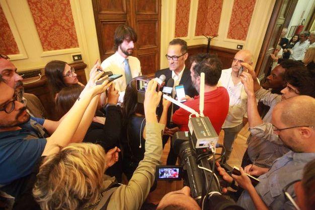 Tombolini sconfitto al ballottaggio (foto Antic)