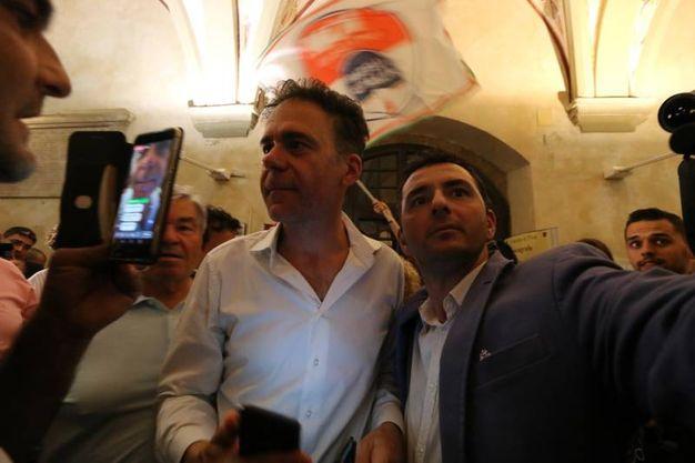 Michele Conti nuovo sindaco di Pisa (foto Andrea Valtriani)