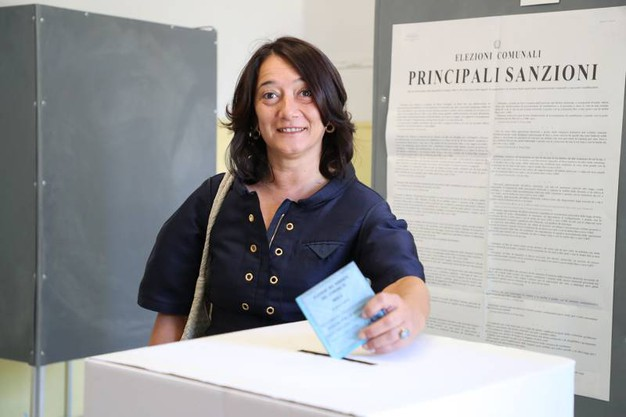 La candidata del centrosinistra Carmen Cappello (foto Isolapress)