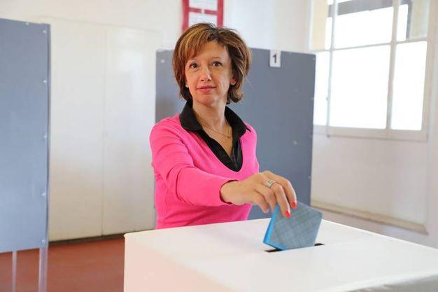 E quella del Movimento 5 Stelle, Manuela Sangiorgi (foto Isolapress)