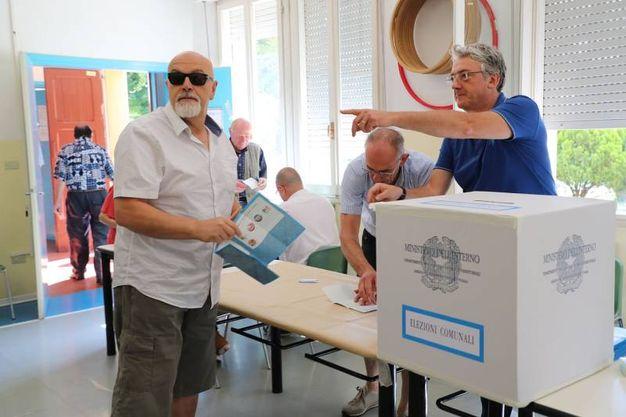 Il candidato del centrodestra, Giuseppe Palazzolo, si è fermato al 23% senza accedere alla sfida (foto Isolapress)