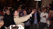La festa del neo sindaco (foto Zeppilli)