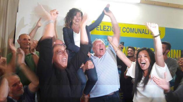 La festa di Stefani Signorini, la prima sindaco donna (foto Pascucci)