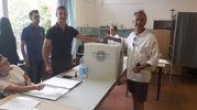 Al voto (foto Pascucci)