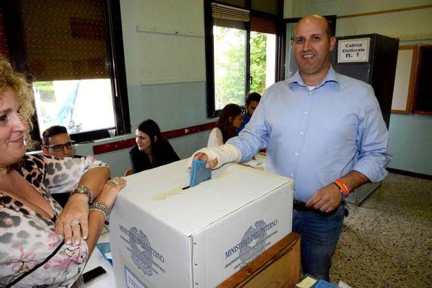 Lamberto Cavallari ha perso al ballottaggio (foto Braghin)