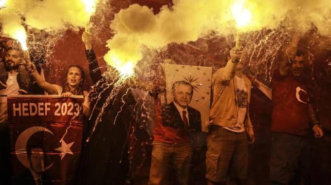 Elezioni in Turchia (Ansa)