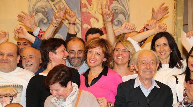 Sangiorgi, festa in Comune
