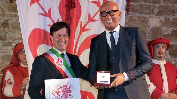 Marco Bizzarri riceve il Fiorino d'oro (Pressphoto)