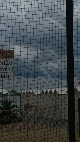 Tromba d'aria a Rimini