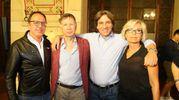 La festa per De Mossi dopo i risultati (Foto Dipietro)