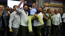 La festa per il neo-sindaco Persiani