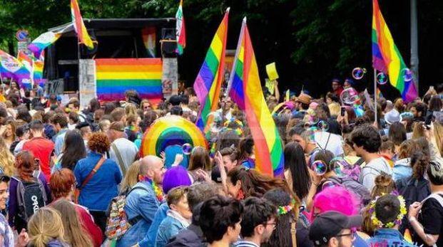 COLORATO Una sfilata del Love Pride