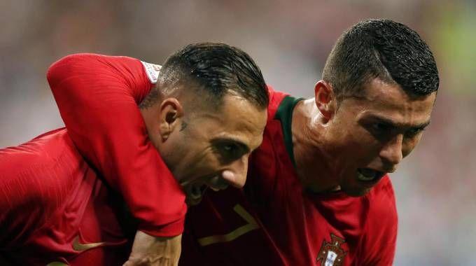Iran-Portogallo, gol di Quaresma (Ansa)