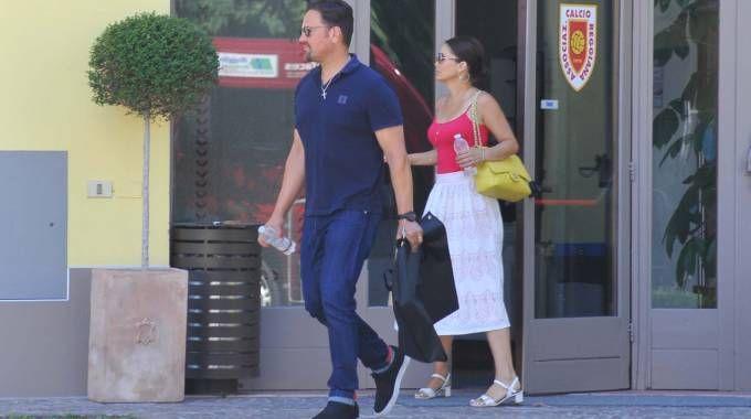 Mike e Alicia Piazza (foto Artioli)