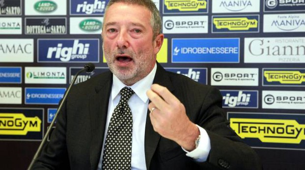Giorgio Lugaresi è tornato al vertice del club romagnolo dalla primavera del 2013
